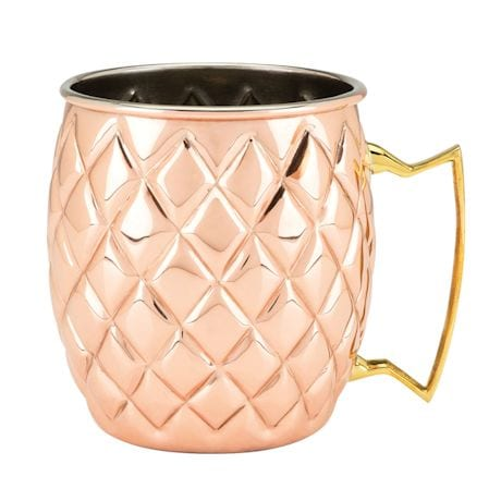 Copper Pineapple Cocktail Drinkware - Moscow Mule Mug