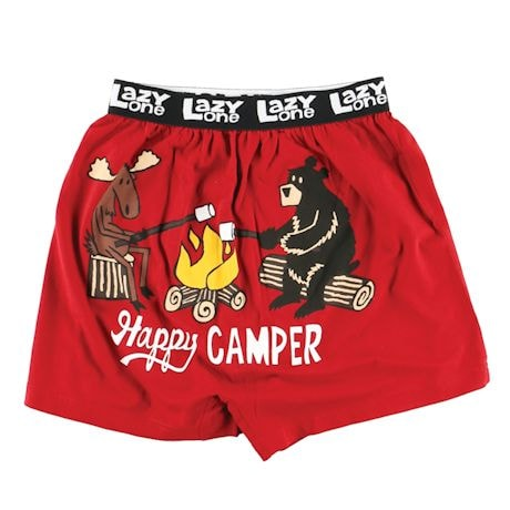 Expressive Boxers! - Happy Camper