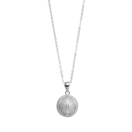 Sports Sterling Silver Pendant Necklace