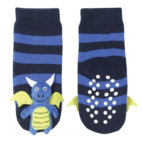 Children's Toe-Rattle Socks - Dragon