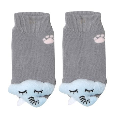 Children's Toe-Rattle Socks - Elephant