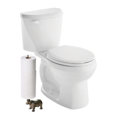 Rhino Toilet Paper and Paper Towel Holder
