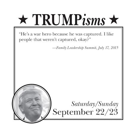 Trumpisms 2018 Calendar