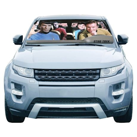 Star Trek Crew Car Windshield Sun Shade