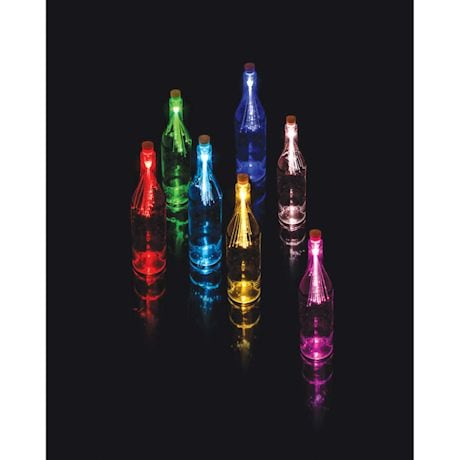 Fiber Optic Bottle Light