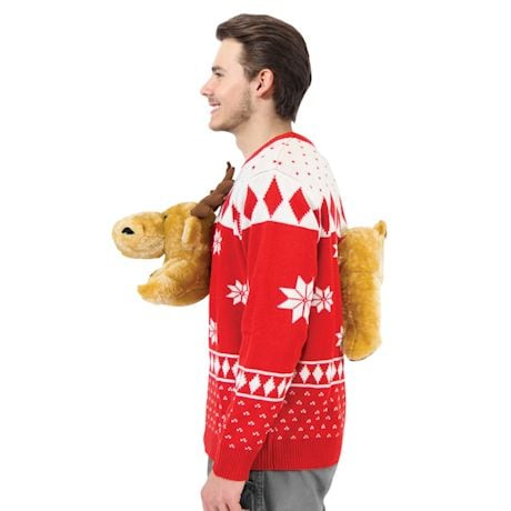 Plush Moose Fair Isle Winter Sweater