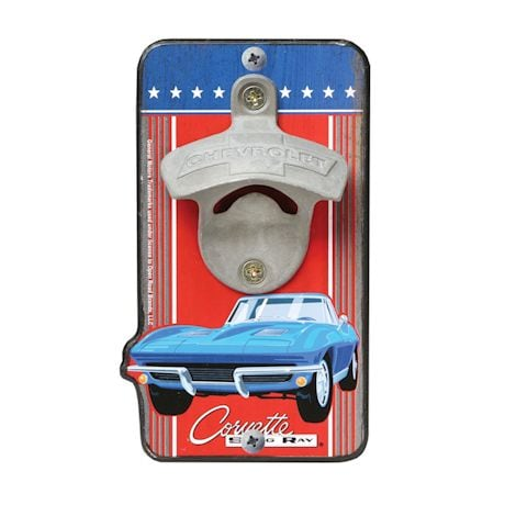 Chevrolet Corvette Bottle Opener