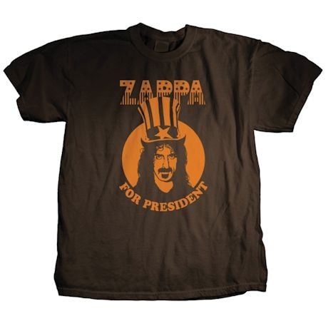 Zappa For President T-Shirts