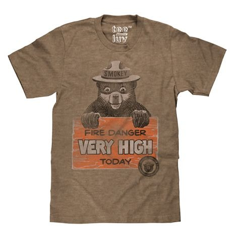 Smokey Fire Danger Tee