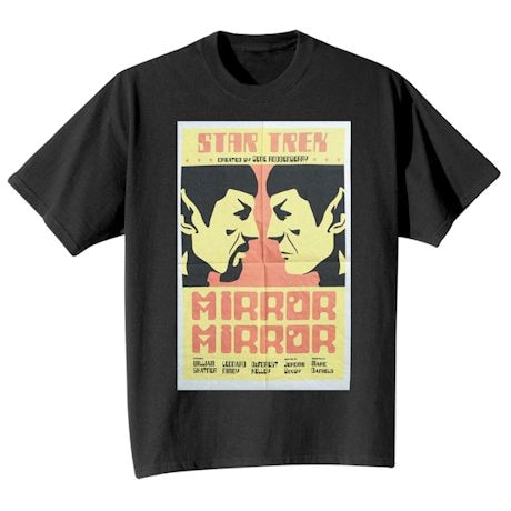 Star Trek Movie Poster T-shirts - Mirror, Mirror