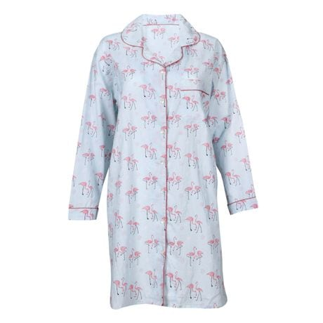 Flamingo Print Sleep Shirt