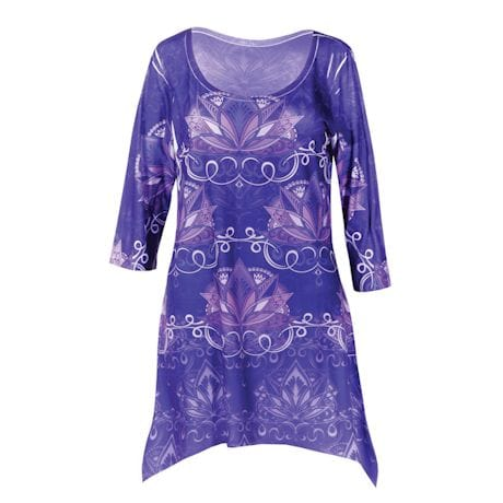 Purple Lotus Tunic