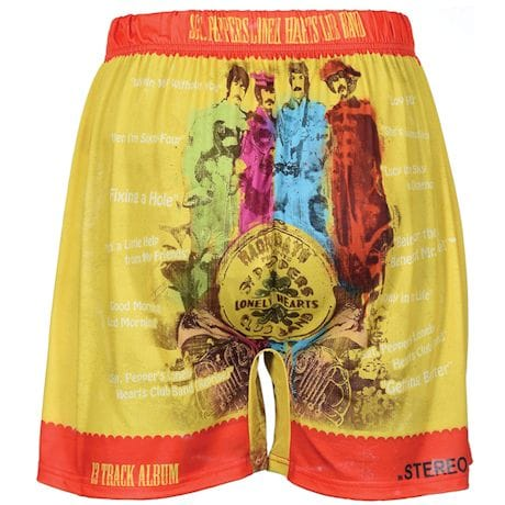 Sublimated Beatles Boxer Shorts