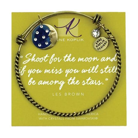 Fantasy Bangle Bracelets - Man In The Moon