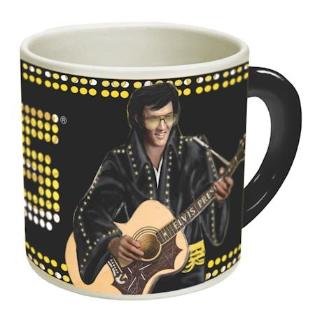 Elvis Heat Change Mug