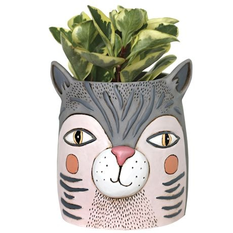 Cat Head Planter