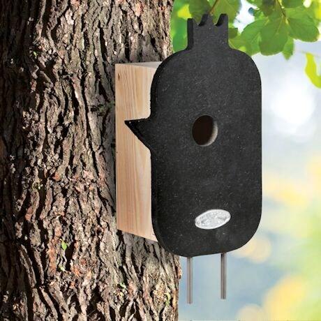 Mod Wood Bird House