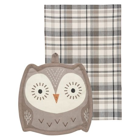Animal Shaped Kitchen Pocket Pals - Owl