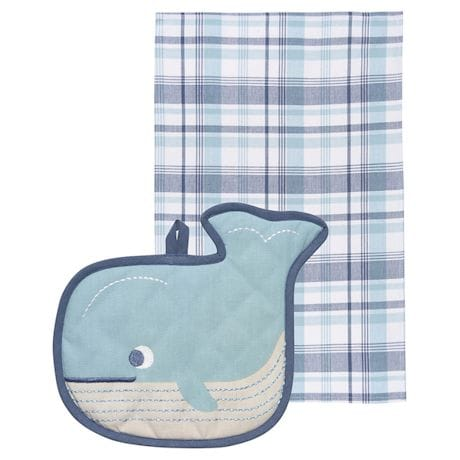 Animal Shaped Kitchen Pocket Pals - Whale