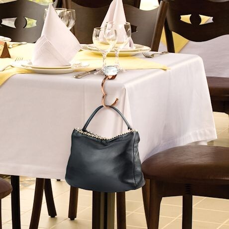 Shine & Dine Handbag Hook & Light