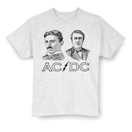 Tesla/Edison AC/DC T-shirt