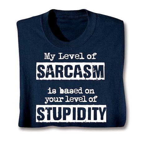 Sarcasm Shirts