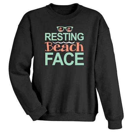Resting Beach Face Shirts