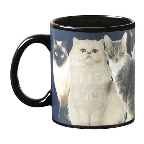 Heat-Change Cat Mug