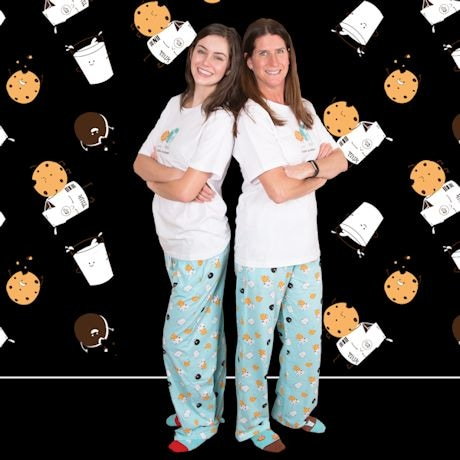 Milk & Cookie Pajama T-Shirt