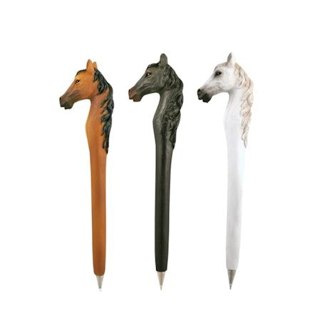 Horses Shaped Pen Set