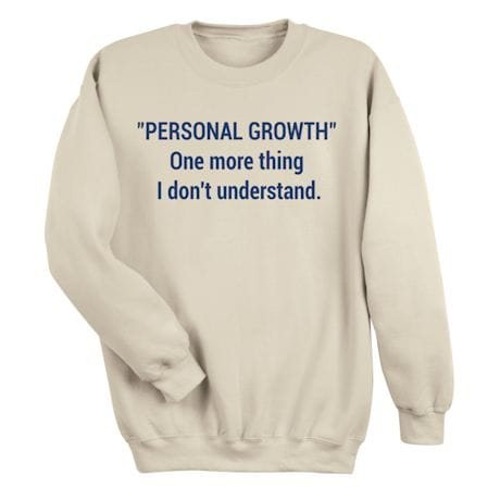 Personal Growth Shirts