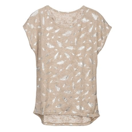 Metallic Accents T-shirts