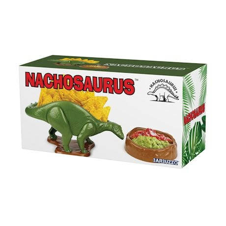 Nachosaurus - Dinosaur Chip and Dip Serving Set