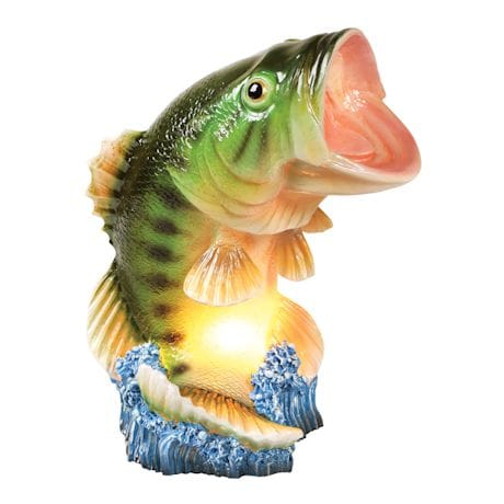 Largemouth Bass Table Accent Lamp