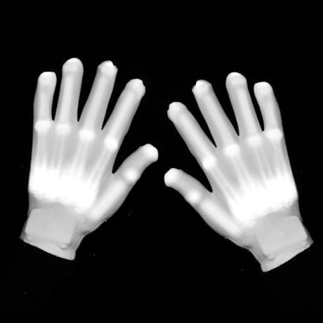 LED Lighted Skeleton Gloves