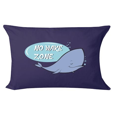 No Wake Zone Pillowcase