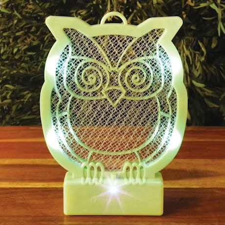 Owl Shaped Bug Zapper