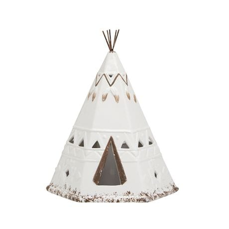 TeePee Shaped LED Lantern & Accent Lamp
