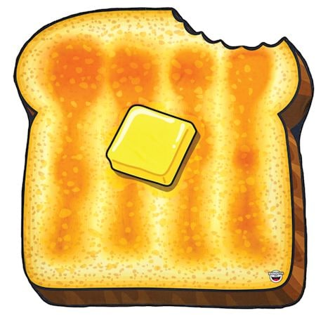 Buttered Toast Beach Blanket