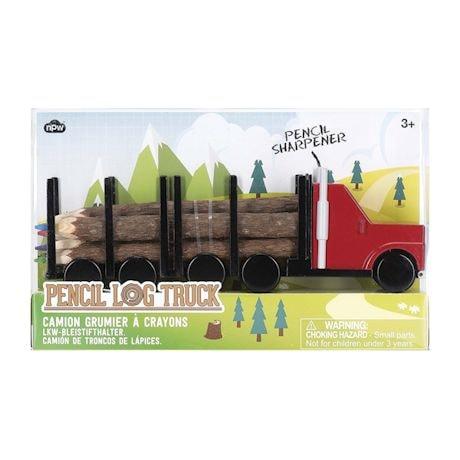 Pencil Log Truck