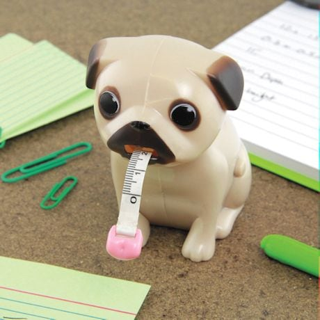Pug Desk Accessories - Tape Measure