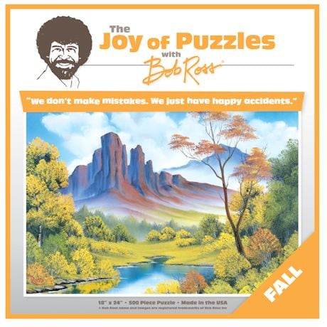 Bob Ross Seasons Puzzles