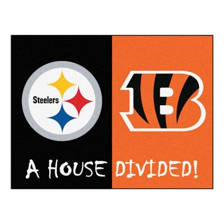 NFL House Divided Mat