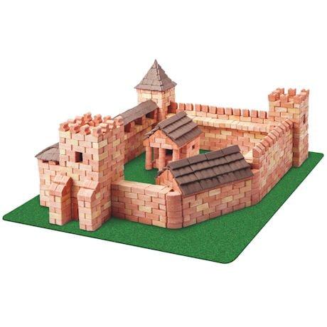 Red Castle Brick Kit - 1800 Pieces