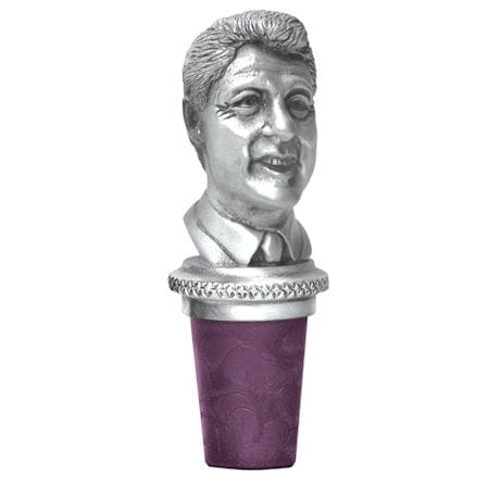 Pewter Presidential Wine Stoppers