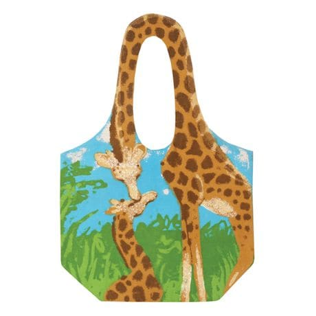 Animal Shaped Handle Tote Bag