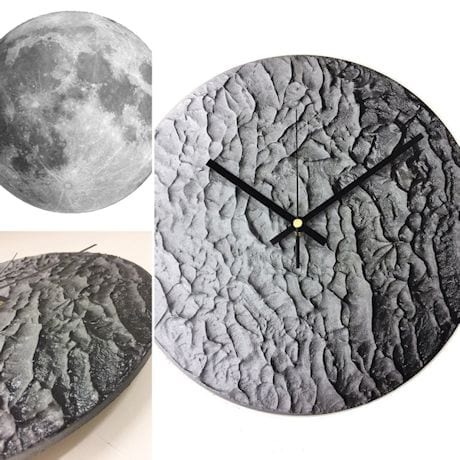 Moonscape Cast Shadow Clock