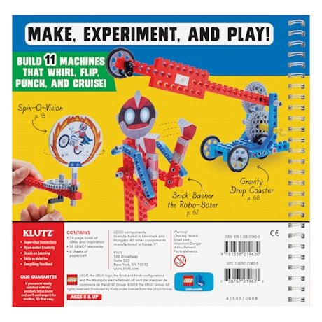 Lego Gadgets Kit - Make Lego Machines