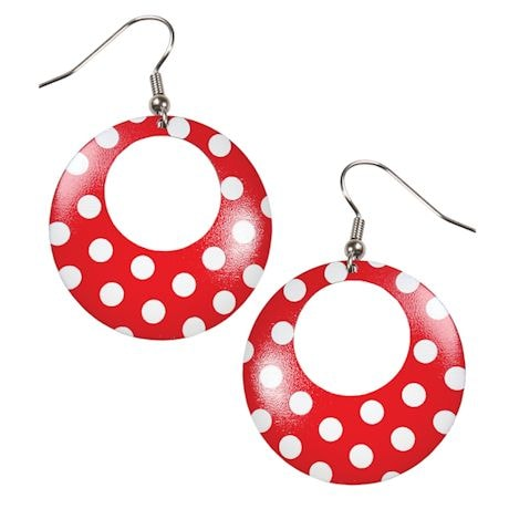 Rosie The Riveter Earrings