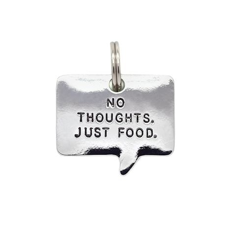 Engraved Pet Thoughts Pet Tags